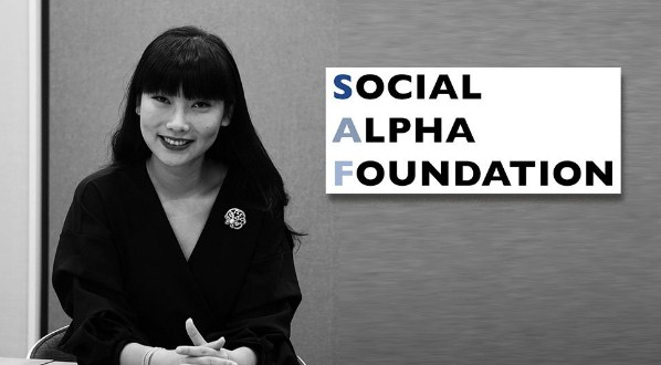 Nydia Zhang Of The Social Alpha Foundation (SAF) : Using The Blockchain For Good