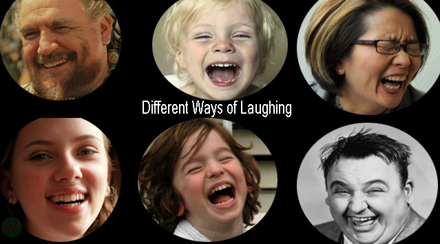 different ways of laughing name, laughing