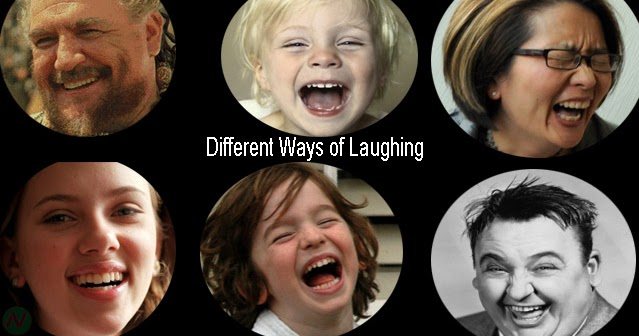 Laughing Hard Meaning English
