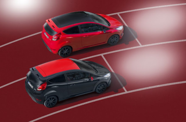 Ford Fiesta Red Edition and Ford Fiesta Black Edition