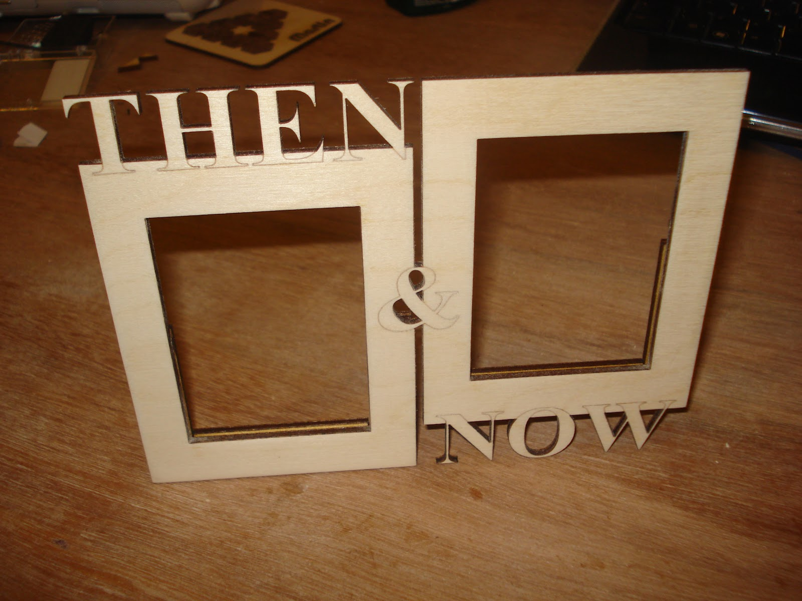 Then Now Frame