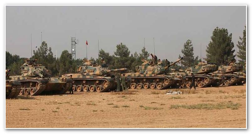 """التدخل التركي يوقف معركة """"سوريا الديمقراطية"""" ضد داعش"""
