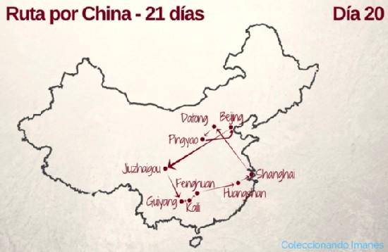 Recorrido por China de 21 días