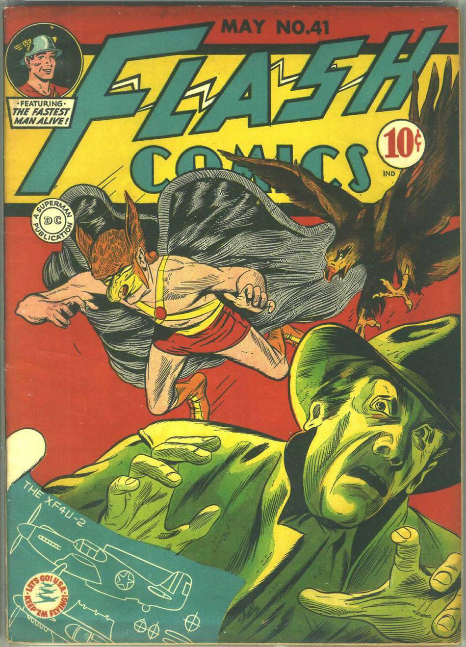 Flash Comics 41 Page 1