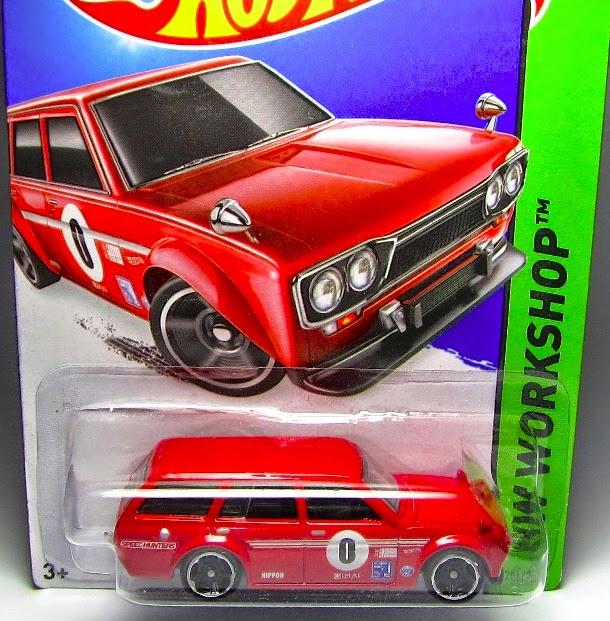 Datsun wagon Hotwheels