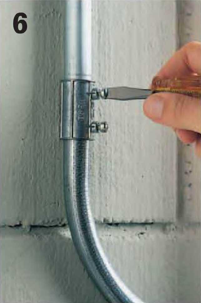 Instalaciones el ctricas residenciales 12 pasos para sobreponer tubo conduit en paredes de concreto - Tuberia para instalacion electrica ...