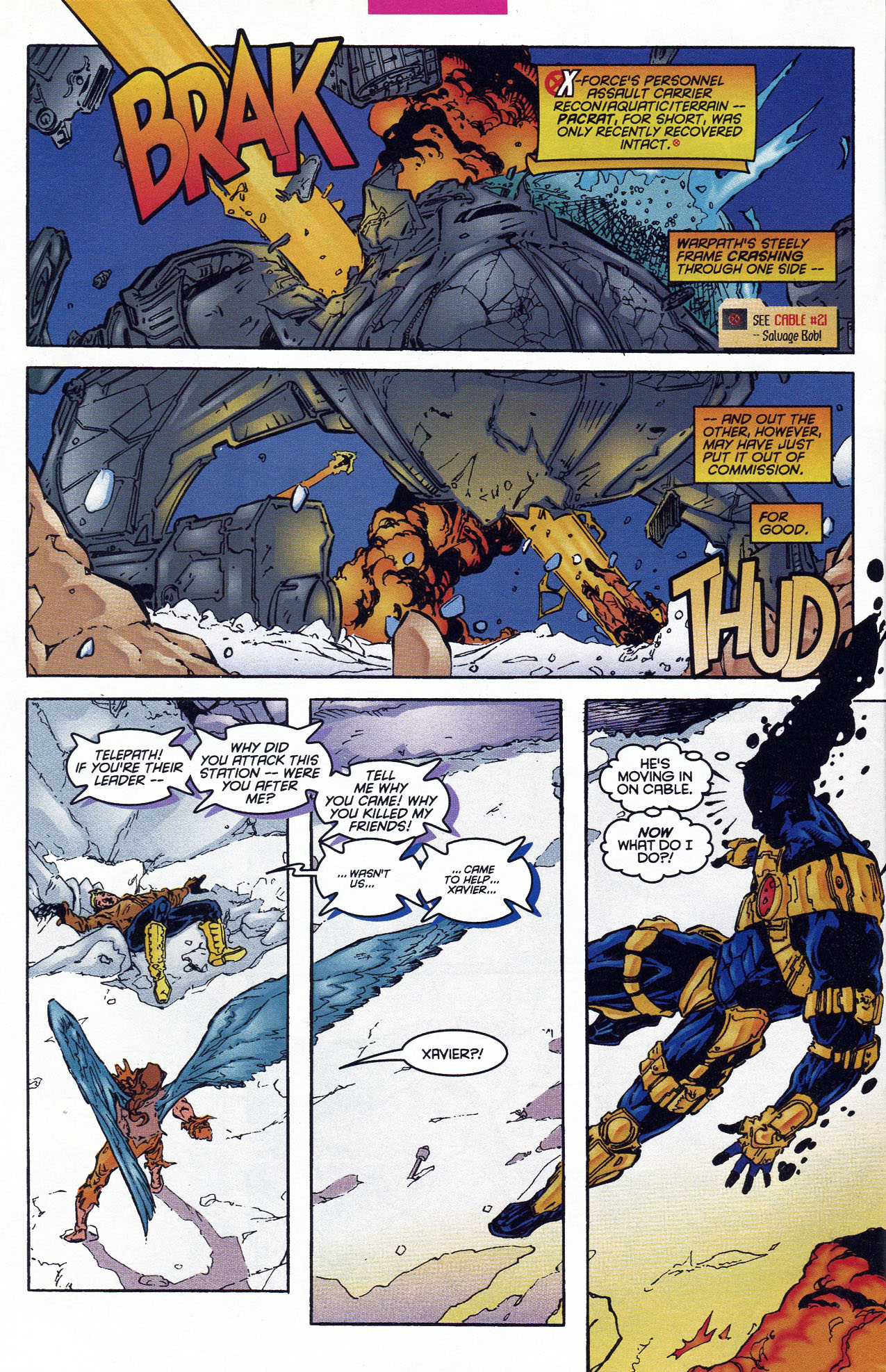 Read online X-Force (1991) comic -  Issue #46 - 11