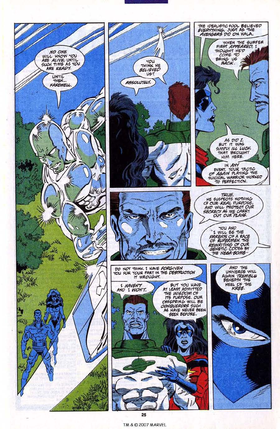 Read online Silver Surfer (1987) comic -  Issue #79 - 27