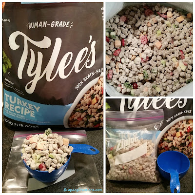 Tylee's frozen dog food human grade chewy