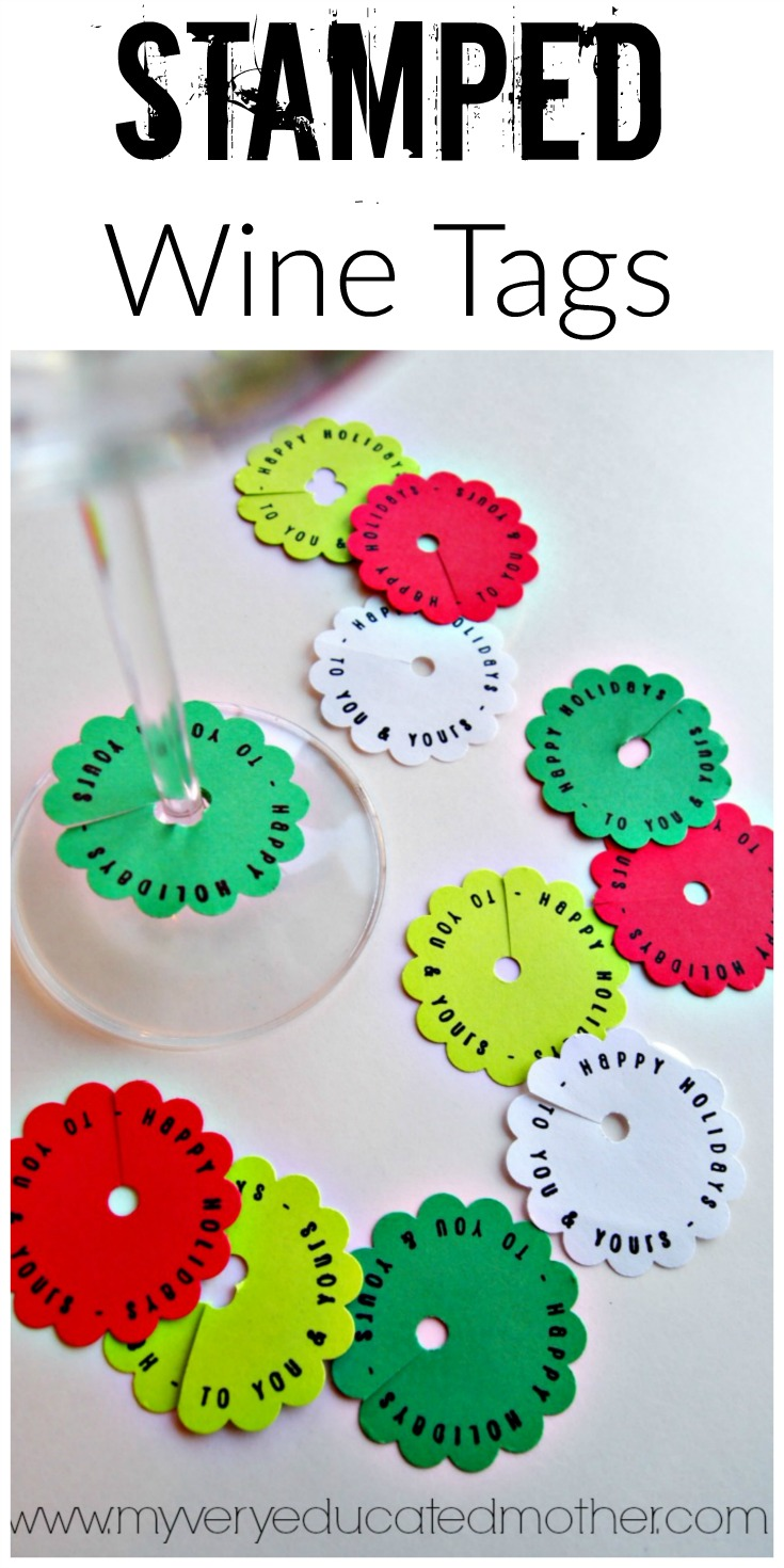 DIY Wine Markers or Tags