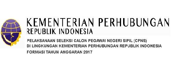 Lowongan CPNS Kementerian Perhubungan Tahun 2017