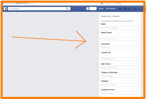 facebook advanced profile search