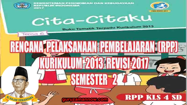 Rpp Kelas 4 Tema 6 Sd Mi Kurikulum 2013 Revisi 2017 Infodikdasmen