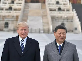 Trump says close to doing something with China on trade
