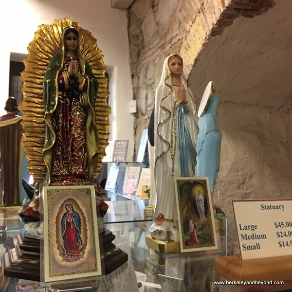 gift shop at Mission San Luis Obispo de Tolosa in San Luis Obispo, California