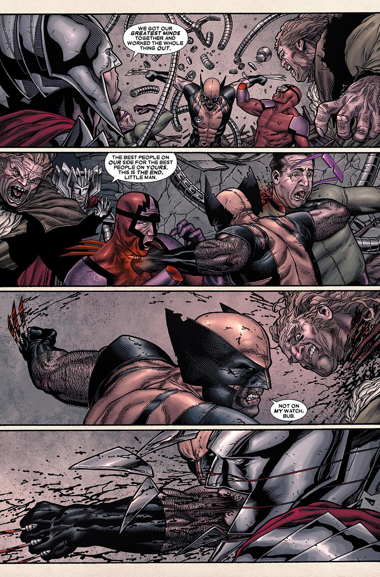 Read online Wolverine: Old Man Logan comic -  Issue # Full - 99