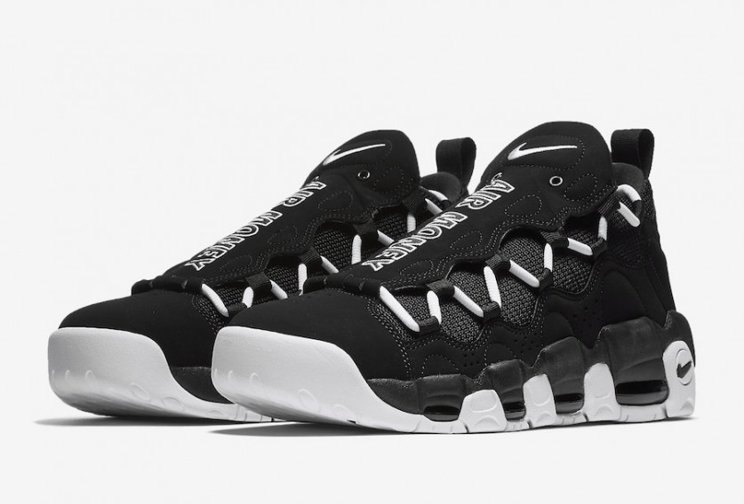 dc4d7b5ded5 Swag Craze: First Look: Nike Air More Money in Black and White