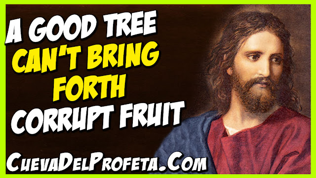 A good tree can not bring forth corrupt fruit - William Marrion Branham Quotes