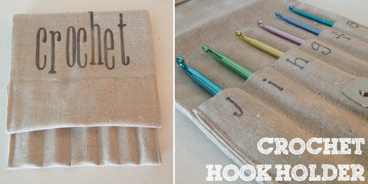 Sewing Barefoot Crochet Hook Holder