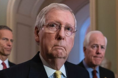 As GOP balks, McConnell shuts down bill to protect Mueller