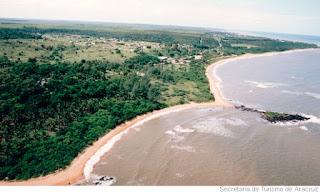 Pousadas Praia Do Sauê em Aracruz ES