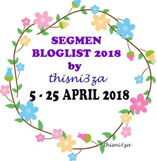 SEGMEN BLOGLIST 2018 BY THISNI3ZA