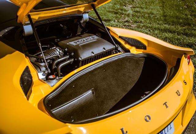 2017 Lotus Evora 400 Engine