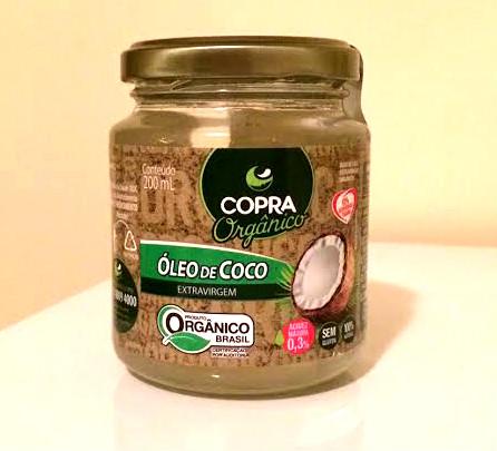 oleo de coco organico copra
