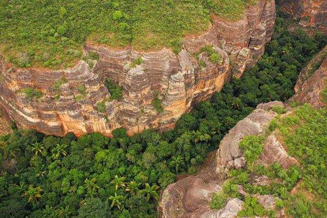 Boqueirão Verde - Serra Vermelha  - Piauí