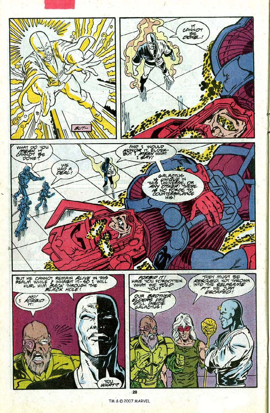 Read online Silver Surfer (1987) comic -  Issue #17 - 22