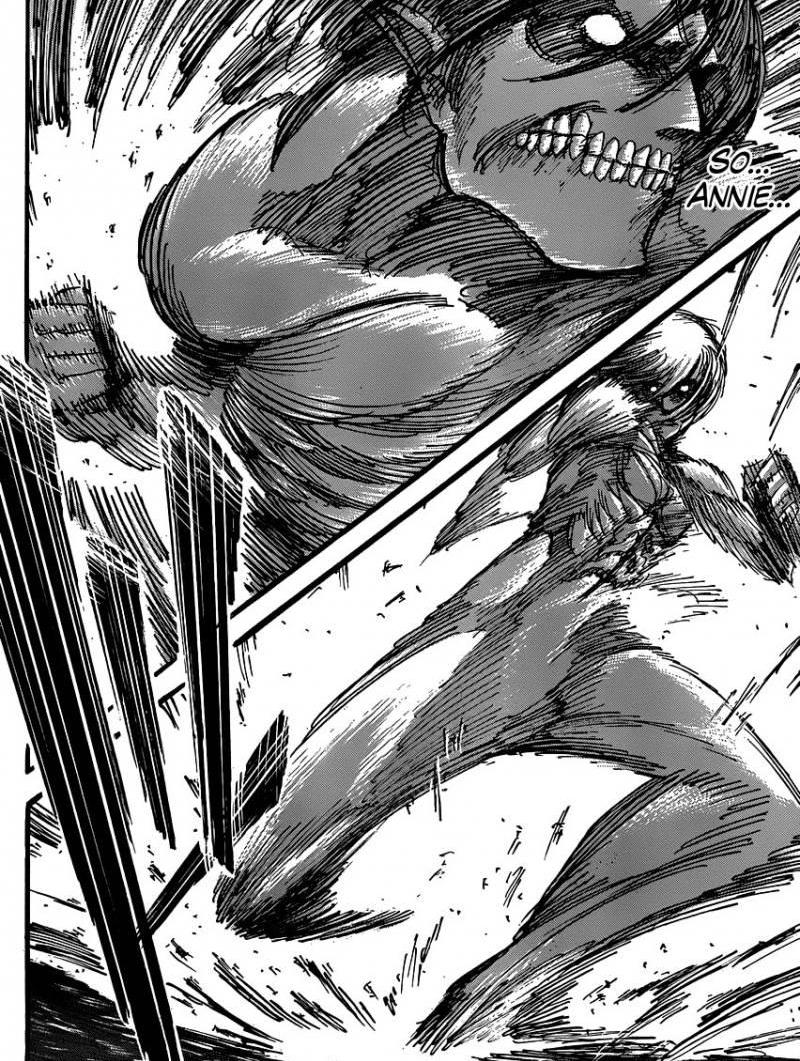 Shingeki no Kyojin Ch 33: The Wall