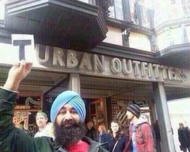 Funny Turban Outfitters Joke Picture