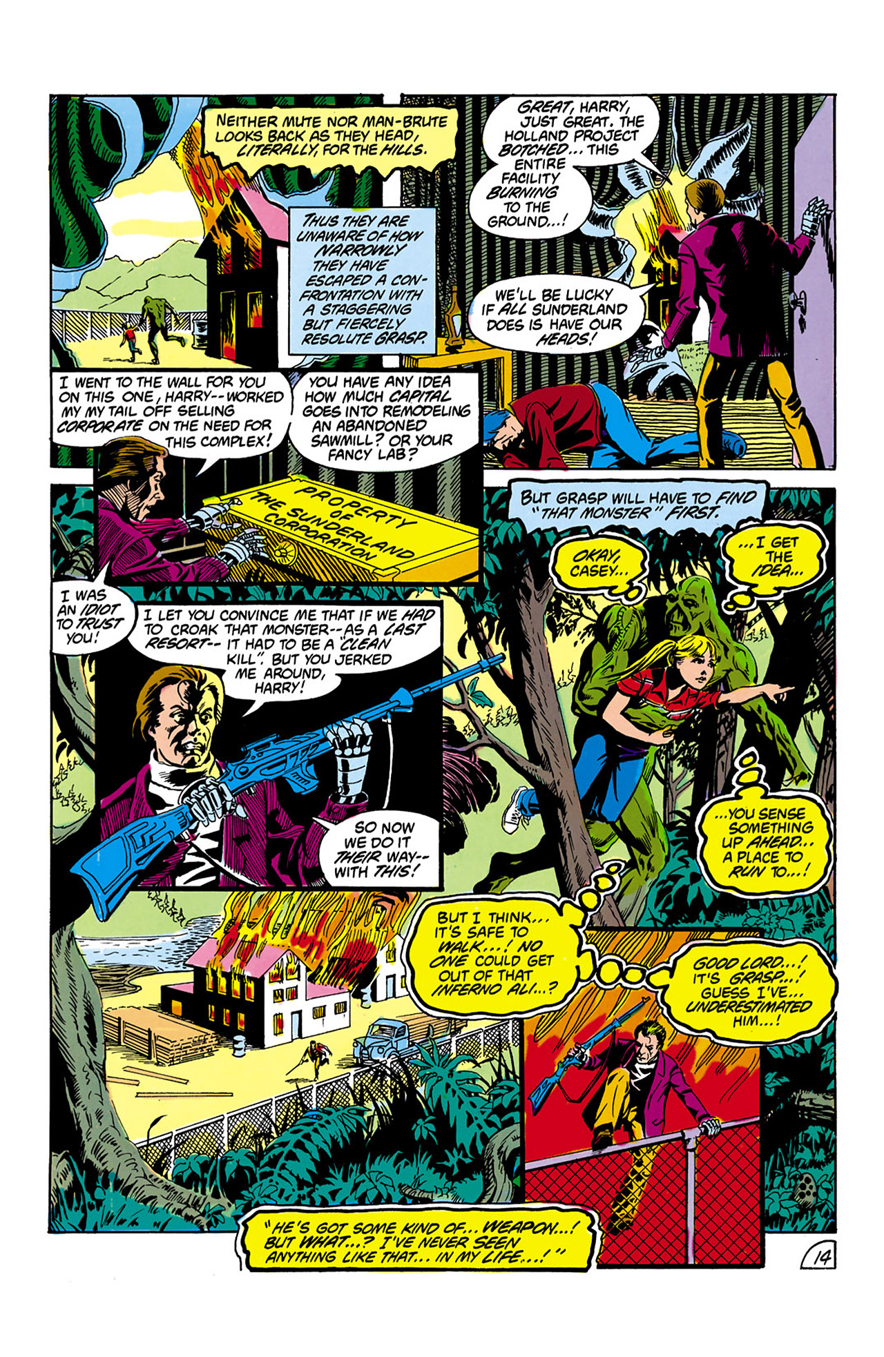 Swamp Thing (1982) Issue #2 #10 - English 15