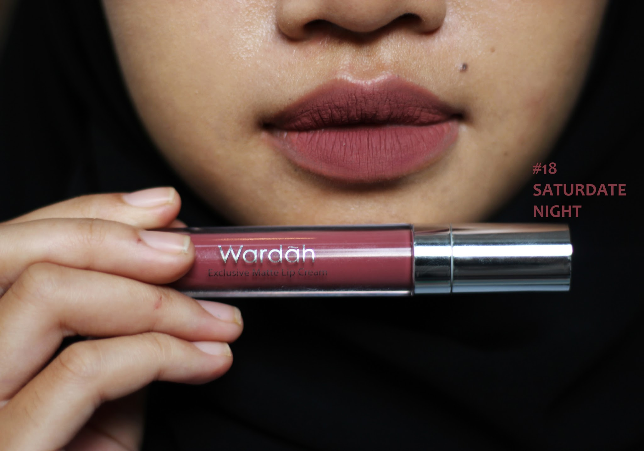 Wardah Exclusive Matte Lip Cream New Shades Swatches Lovelia By