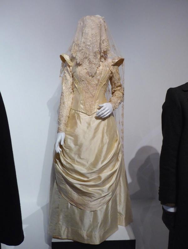 Sherlock Abominable Bride wedding gown