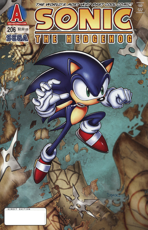 Read online Sonic The Hedgehog comic -  Issue #206 - 1
