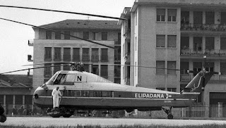elipadana via restelli  eliporto elicottero milano