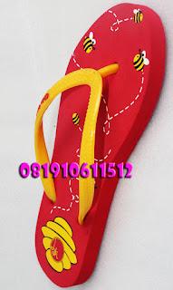 Sandal Jepit Sablon
