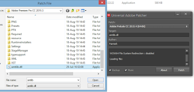 cara install adobe premiere pro cc 2015 v10 4 untuk 32/64 Bit