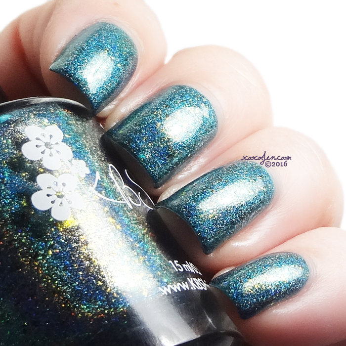 xoxoJen's swatch of KBShimmer - Steal The One