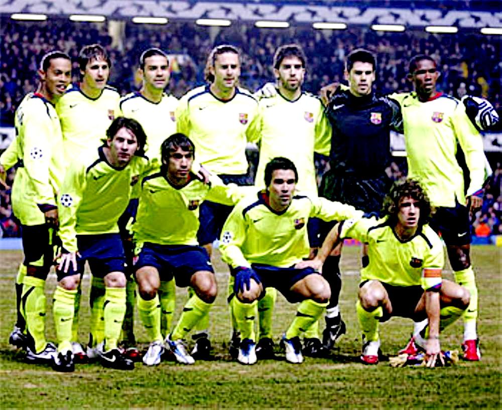 Resultado de imagen para barcelona chelsea 2006