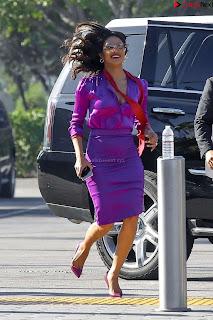 Priyanka Chopra in Beautiful Purple at universal studios ~ .xyz Exclusive 010.jpg