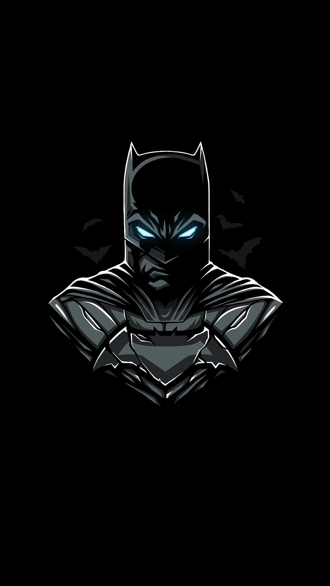 Batman Minimalist 4k Wallpaper 20