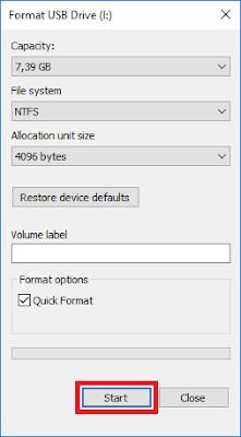 Cara Menghilangkan Virus di Flashdisk dengan format