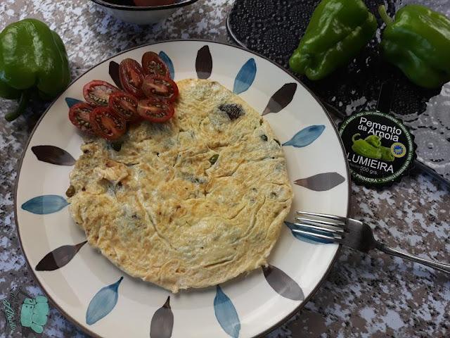 Receta con maridaje: Tortilla con pementos da Arnoia