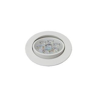9W 4吋 LED投射崁燈 9.5cm嵌入孔,燈頭可調整角度