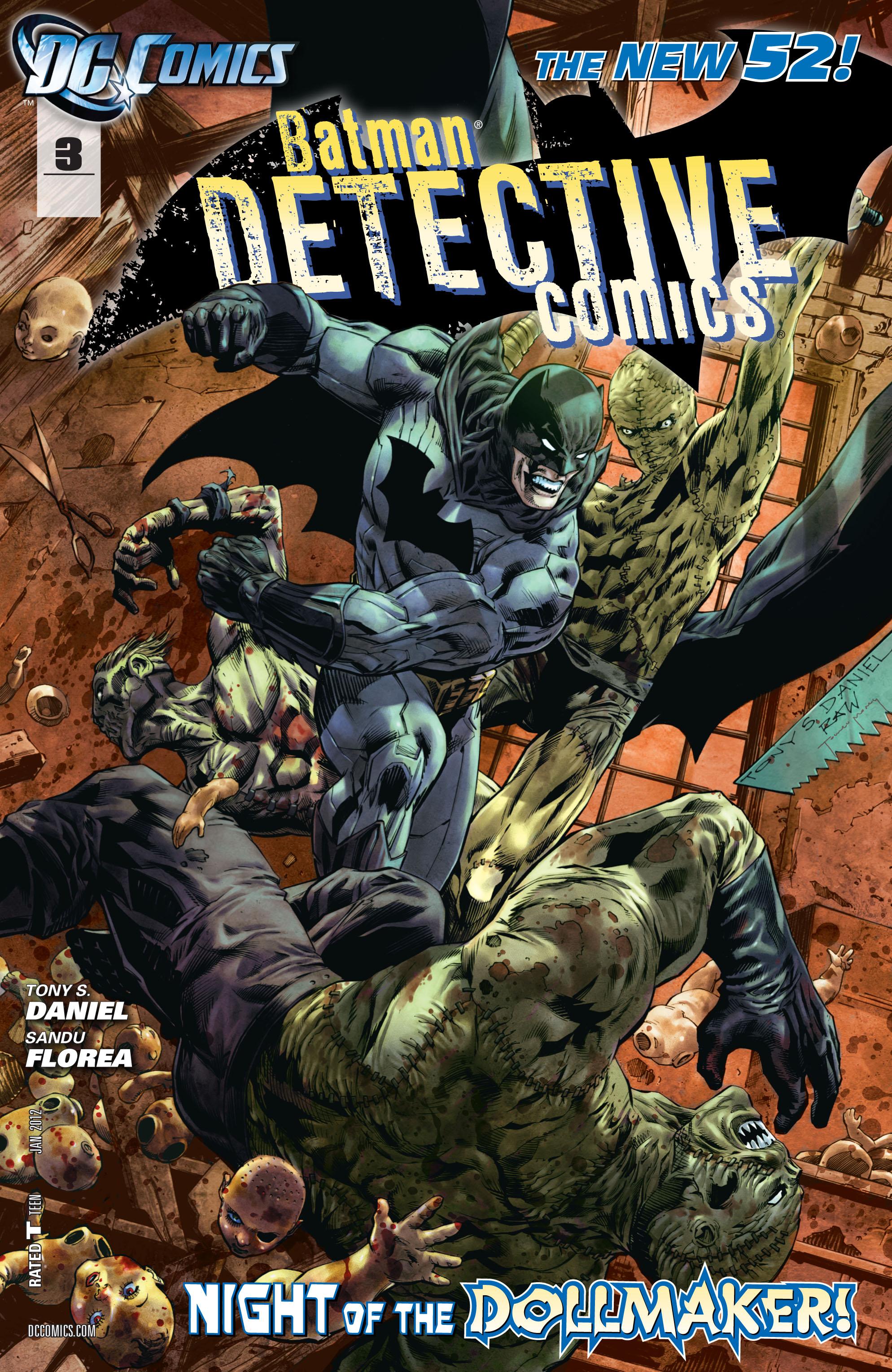 Detective Comics (2011) 3 Page 1
