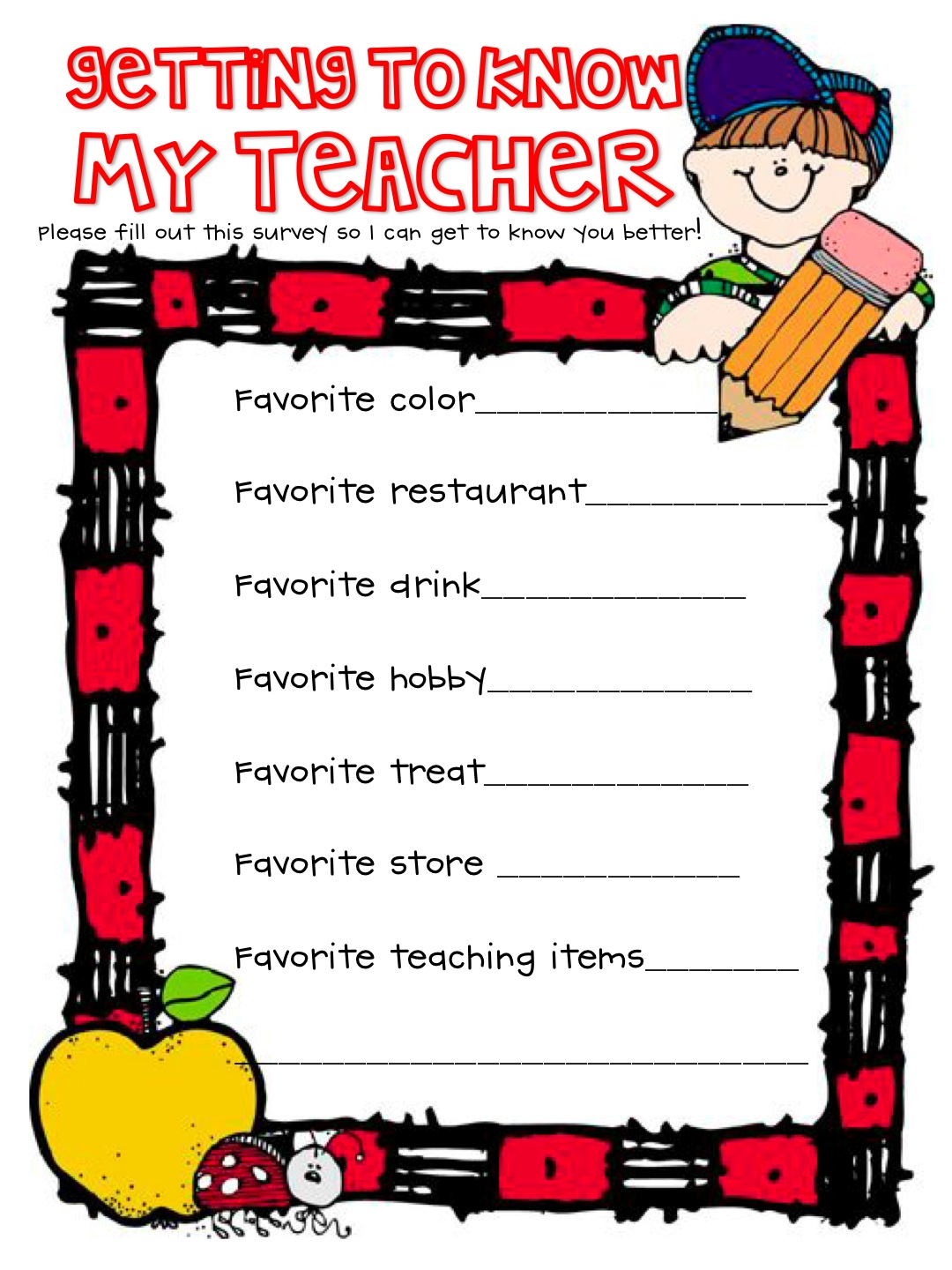 What The Teacher Wants A Request