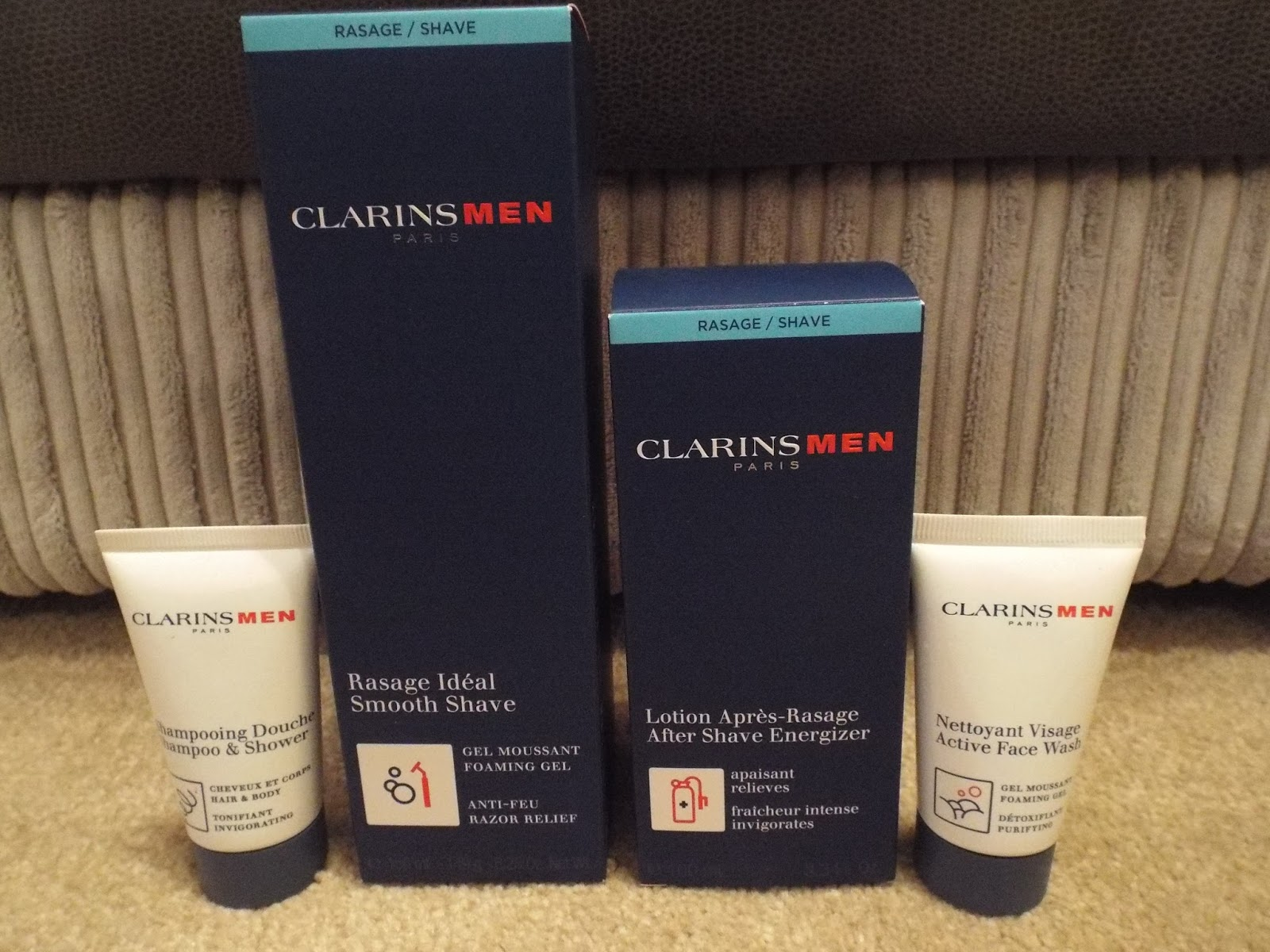 Clarins for men Paris
