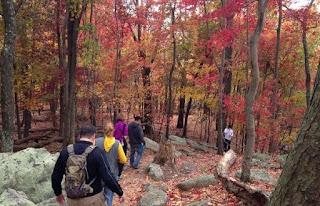 An autumn hike